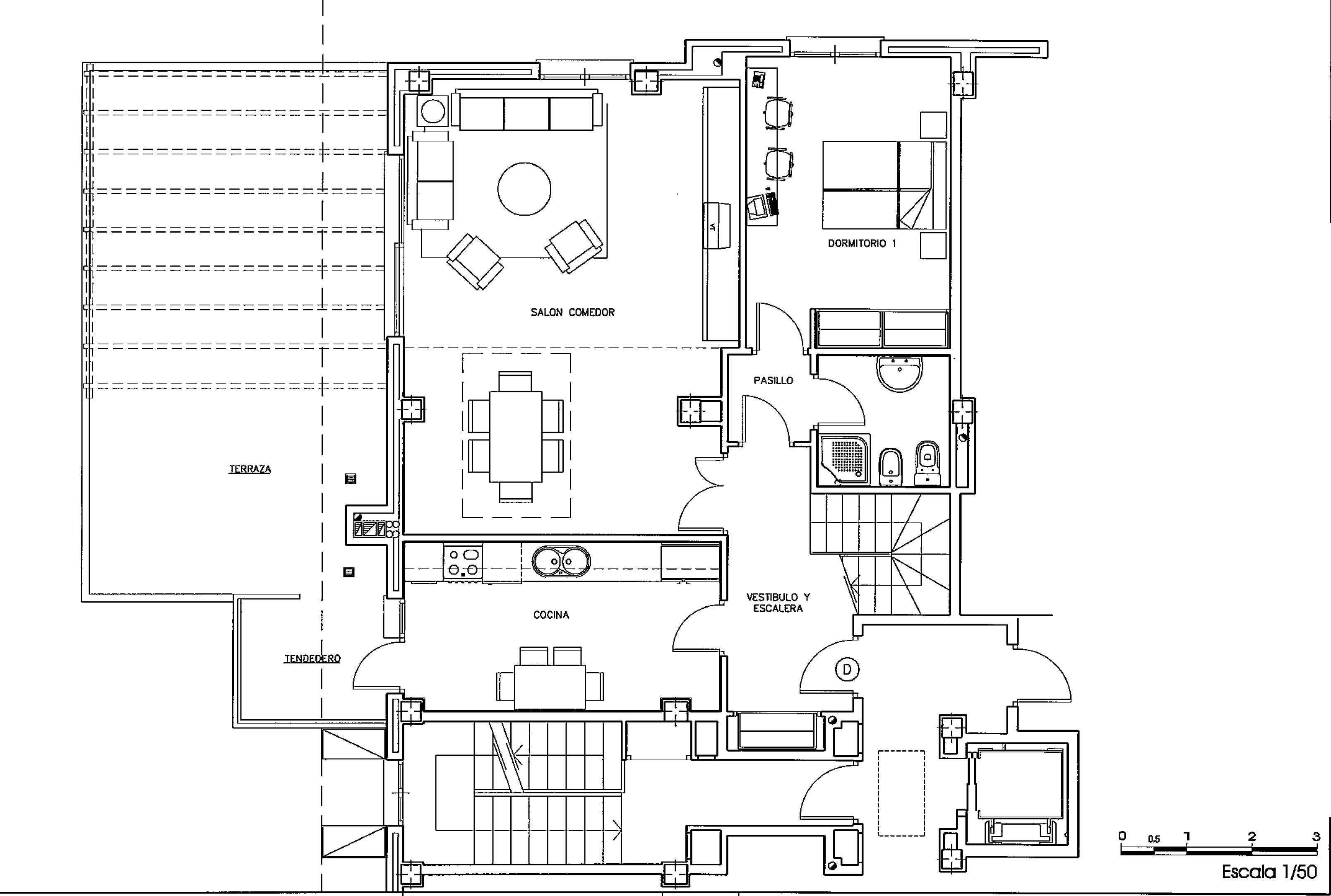Duplex majadahonda venta 590000 euros zona monte del pilar for Planos para restaurantes